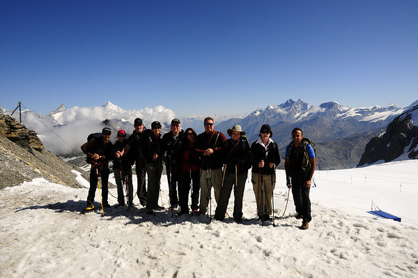 Grand Traverse of the Alps Part 2: ITALY July 30 to August 1, 2011