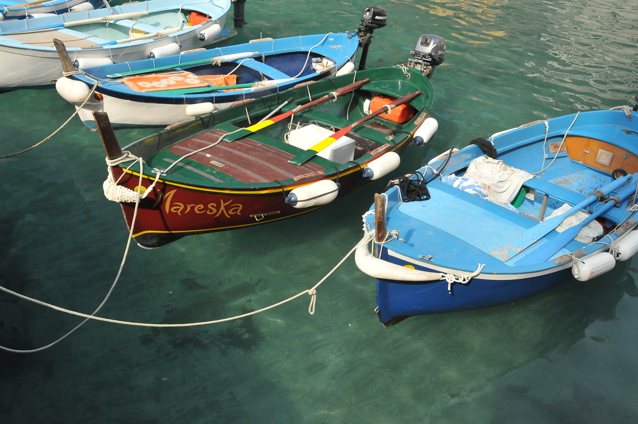 Boats at Vernazza