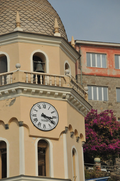 Clock Tower at Vernazza