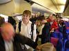 Boarding the plane - Boarding the plane