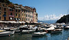 Portofino - the port, looking to the Med