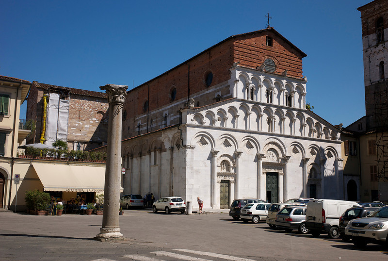 Lucca, one more church