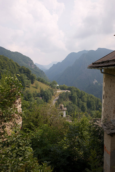 down the valley in Fobello