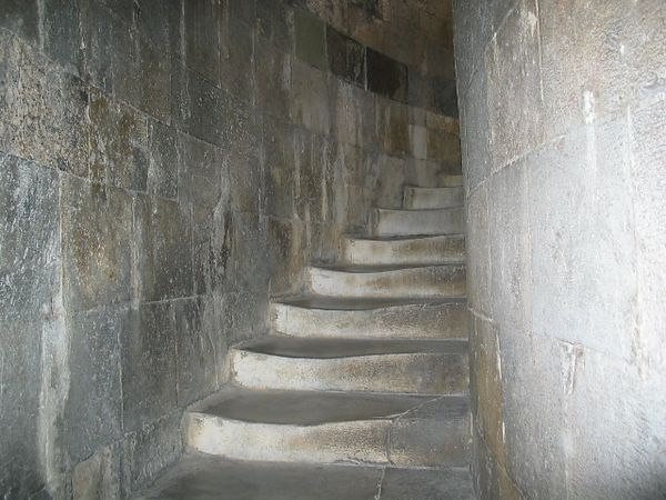 Steps of the Leaning Tower