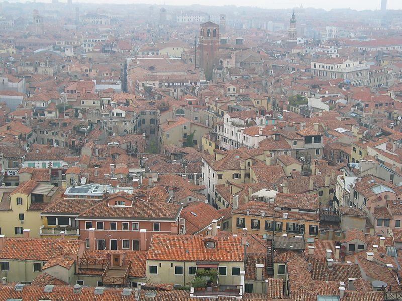 Venice from Bell Tower