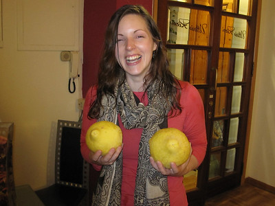 Lemons in the foyer of the hotel... couldn't resist!!!