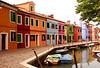 Burano Canal, Burano, Italy, July 2004