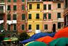 Vernazza facades, Cinque Terre, Italy, July 2004