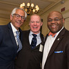 "Mintz Attorney Peter Biagetti (2013 Advocate for Justice Awardee), 451 Marketing Principal Nick Lowe, and ML Strategies Sr. VP and COO The Honorable William ""Mo"" Cowan<br /> <br /> 5/8/2014 for Jane Doe Inc. © Ilene Perlman Photography"