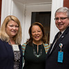 JDI Board President and Jeanne Geiger Crisis Center CEO Suzanne Dubus, Diane B. Patrick, and Mass. General Physicans Organization Jim Heffernan<br /> 5/8/2014 for Jane Doe Inc. © Ilene Perlman Photography