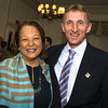 Diane B. Patrick and Boston Police Commissioner William Evans<br /> <br /> Its Your Breakfast Jane Doe annual event at the Algonquin Club, Boston , MA May 8, 2014