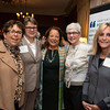Carol Gladstone, GCSDV Director Sheridan Haines, Diane B. Patrick, Emerald Necklace Conservancy Director Julie Crockford and Amy Bernstein.<br /> 5/8/2014 for Jane Doe Inc. © Ilene Perlman Photography