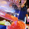JMag/T. Rob Brown pours a strawberry margarita recently in the cantina at Casa Montez restaurant in Joplin.