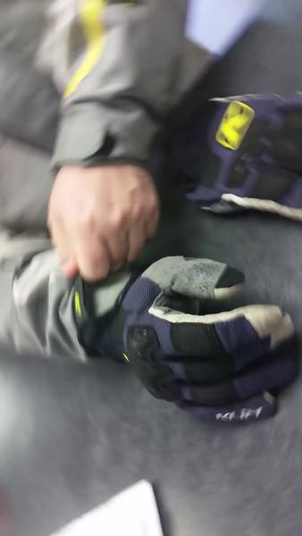 Charles Kirby's Dakar Gloves