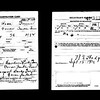 J Ross Greenr Registration Card