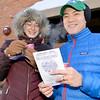 J.S.CARRAS - JCARRAS@DIGITALFIRSTMEDIA.COM  Lisa and Tim Wong of Saratoga enjoying the 17th annual Chowderfest Saturday, January 31, 2015 in Saratoga Springs, N.Y..