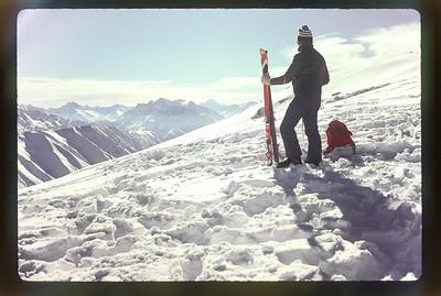 1981 JER Mathews skiing at Ohau, NZ a NEG