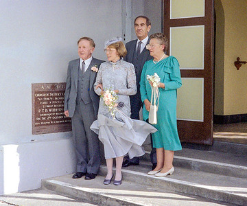 1988 JER Mathews and Margaret Stewarts wedding a NEG