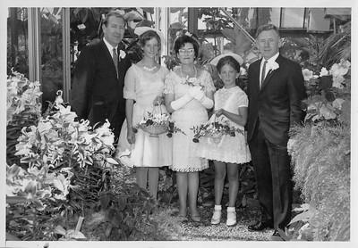 1969 - JER Mathews, Bronwyn Taylor, Molly Jenkins, Wendy Taylor a