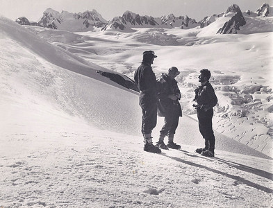 JER Mathews above Fox Glacier, NZ a
