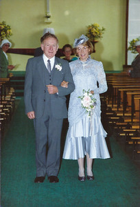 1988 - JER Mathews & Margaret Stewart wedding a