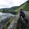 Thorsten on the bike track along the Mosel River, Germany