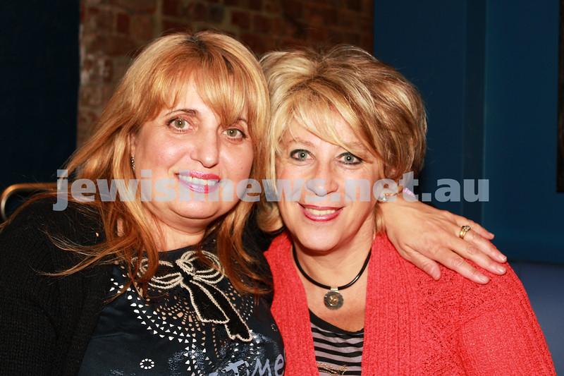 7-11-2012. Ada Gringruz and Faina Plockin. JIFF Melbourne launch. Classic Cinemas, Elsternwick. Photo: Lochlan Tangas