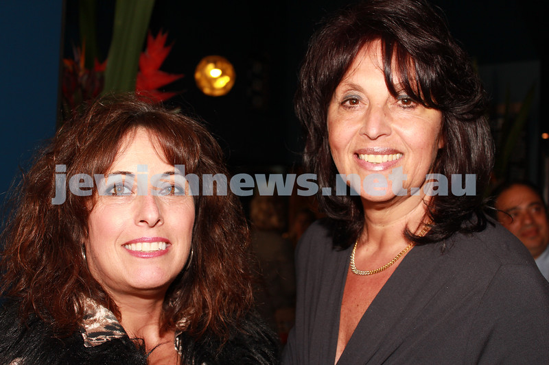 7-11-2012. Maureen Kahn and Rochelle Butt. JIFF Melbourne launch. Classic Cinemas, Elsternwick. Photo: Lochlan Tangas