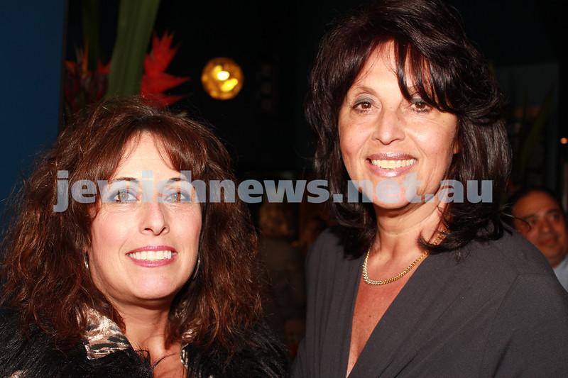 7-11-2012. Maureen Kahn and Rochelle Butt. JIFF Melbourne launch. Classic Cinemas, Elsternwick. Photo: Lochlan Tangas