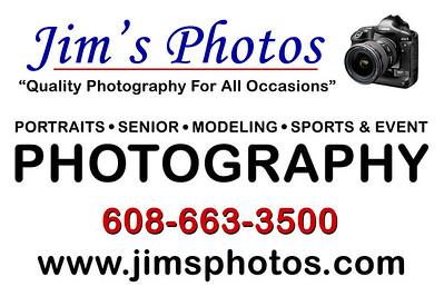 Jim's Photos Logos and Ads