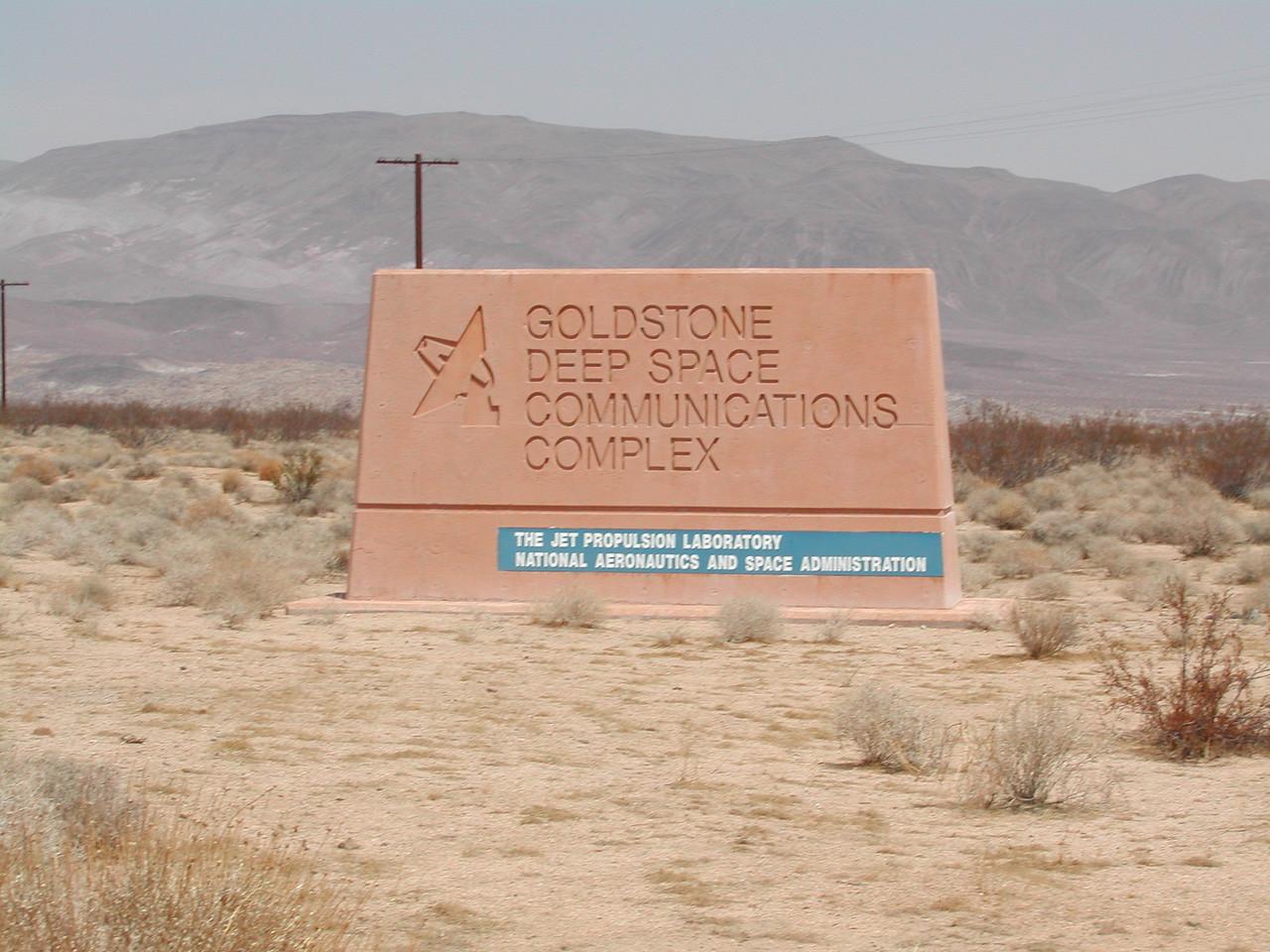 Goldstone CA: GSSR