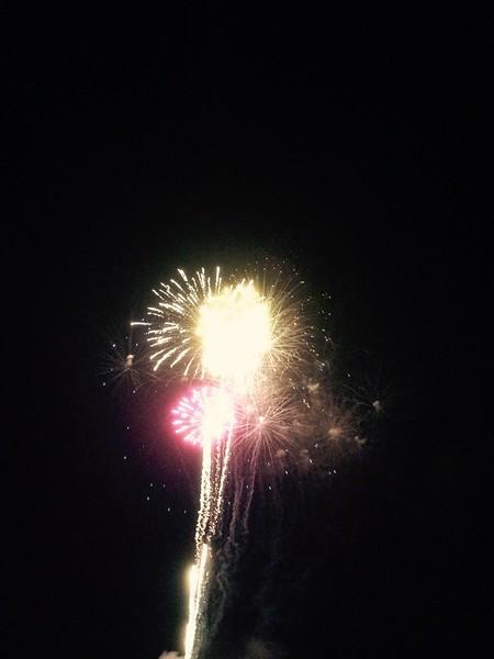 JULY 2015 Fireworks