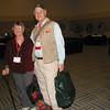 Actor Gerald McCraney and Anne in Reno. We were there with the Leupold-sponsored Jack O'Connor Tour.