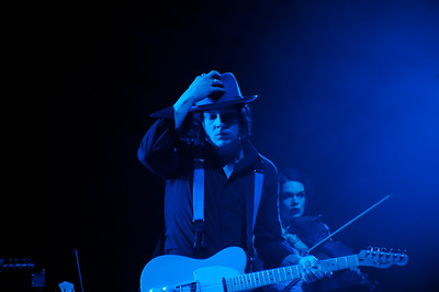 Jack White at Red Rocks Amphitheatre on Aug. 8, 2012. Photos by Glenn Ross, heyreverb.com.