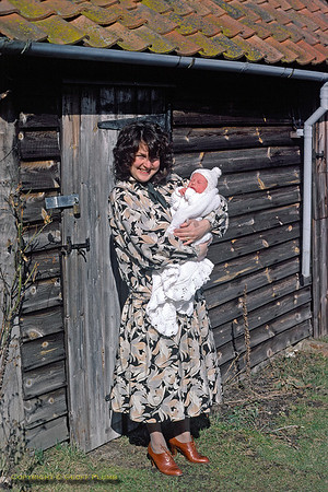 Jackie & Chris, Dinton, March 1979