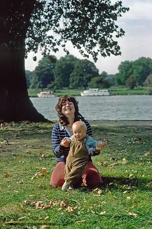 Jackie & Chris, Henley, September 1979