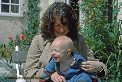 Jackie & Chris, Withypool, September 1979