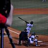 Birmingham's Jose Martinez at bat
