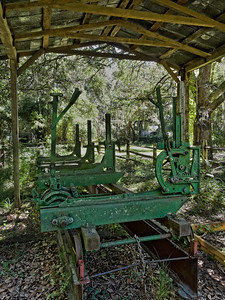 Sawmill from the late 1800's in Jacksonville