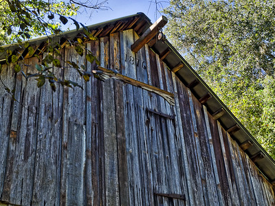 1876 Barn at Walter Jones Historic Park