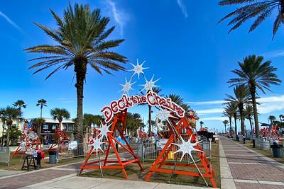 Entrance to Seawalk Pavillion,  Jacksonville Beach