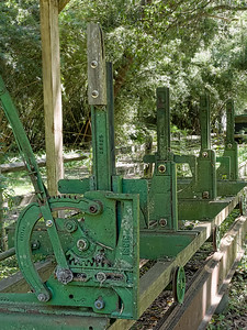 Sawmill at Walter Jones Historic Park
