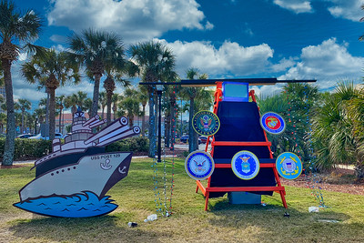 Ocean Beaches American Legion Post 129 Deck the Chairs Entry