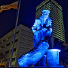 Liberty Hound Statue in Jacksonville