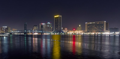 Downtown Jacksonville Before Sunrise