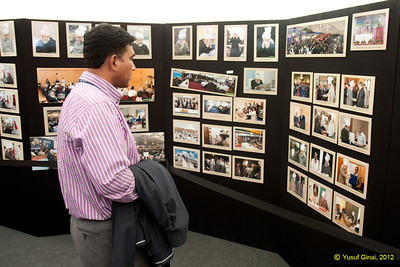Inside the Makhzan-e-Tasaweer photo exhibition with hundreds of historical photos on display.