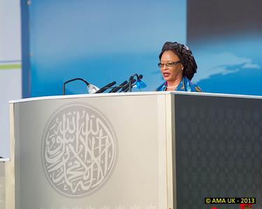 JA3_4759 Guest Speaker: Madam Falan Zara – Member of Parliament for Ivory Coast.