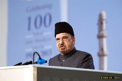 JA3_4364  Jalsa speech by Dr. Iftikhar Ahmad Ayaz (OBE) Chairman Human Rights Committee UK Sat 31st Aug