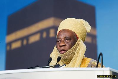 JA3_4459  Guest Speaker: Al- Haj Dr Ahmad Ookubo – king of Enqu, Kingdom in Nigeria