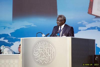 JA3_4772 Guest Speaker: Mr Ousmane Batoku - President of Supreme Court, Benin.